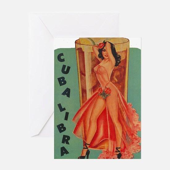 Cuba Libra Greeting Card