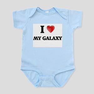 I Love My Galaxy Body Suit