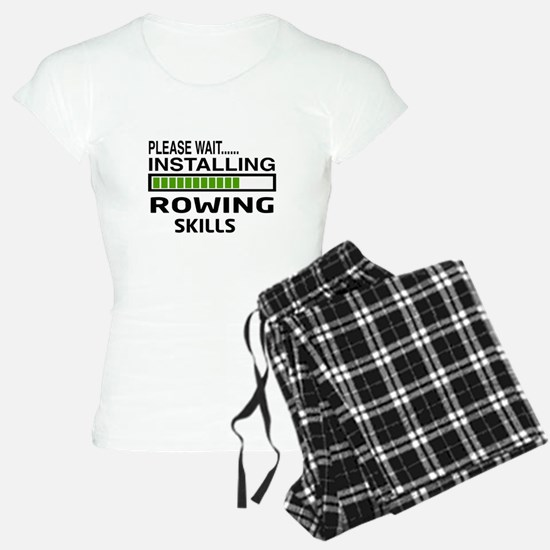 Please wait, Installing Row Pajamas