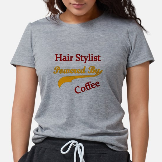 hair stylist Powered by coffee T-Shirt