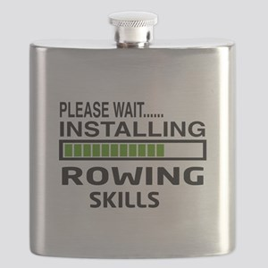 Please wait, Installing Rowing Skills Flask
