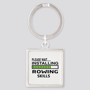 Please wait, Installing Rowing Ski Square Keychain
