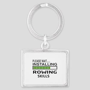 Please wait, Installing Rowing Landscape Keychain