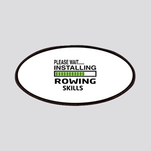 Please wait, Installing Rowing Skills Patch