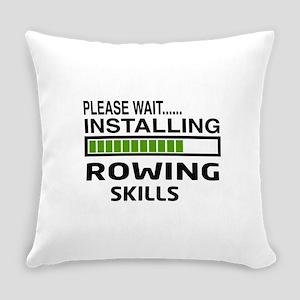 Please wait, Installing Rowing Ski Everyday Pillow