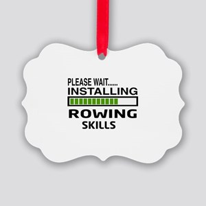 Please wait, Installing Rowing Sk Picture Ornament