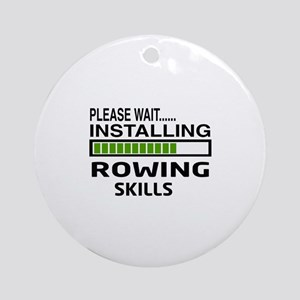 Please wait, Installing Rowing Skil Round Ornament