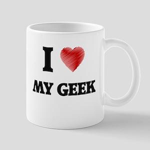 I Love My Geek Mugs