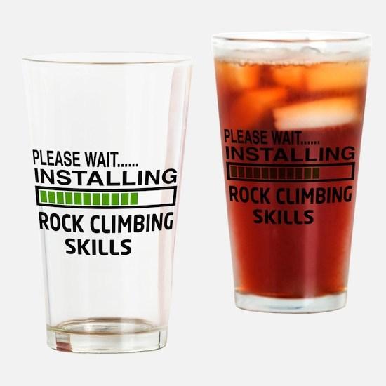 Please wait, Installing Rock Climbi Drinking Glass