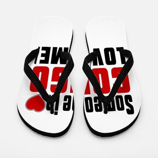 Someone In Congo Loves Me Flip Flops
