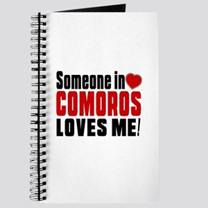 Someone In Comoros Loves Me Journal