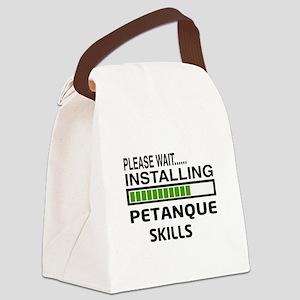 Please wait, Installing Petanque Canvas Lunch Bag