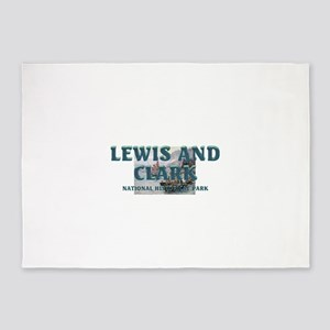 Lewis and Clark NHS 5'x7'Area Rug