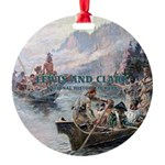 Lewis and Clark NHS Round Ornament