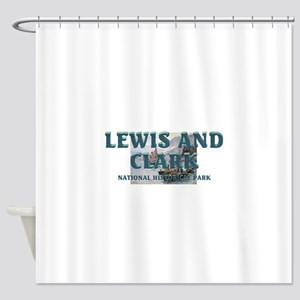 Lewis and Clark NHS Shower Curtain