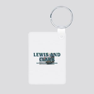 Lewis and Clark NHS Aluminum Photo Keychain
