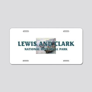 Lewis and Clark NHS Aluminum License Plate
