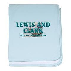 Lewis and Clark NHS baby blanket