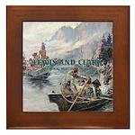 Lewis and Clark NHS Framed Tile