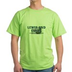 Lewis and Clark NHS Green T-Shirt