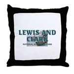 Lewis and Clark NHS Throw Pillow