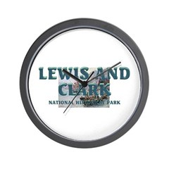 Lewis and Clark NHS Wall Clock