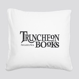 Truncheon Books Square Canvas Pillow