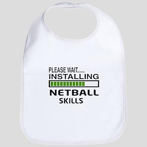 Please wait, Installing Netball Skills Bib