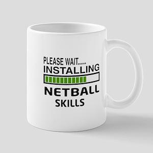 Please wait, Installing Netball Skills Mug
