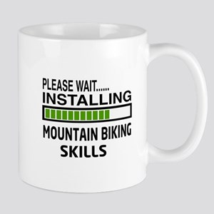 Please wait, Installing Mountain Biking Mug