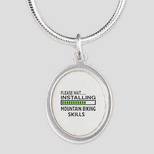 Please wait, Installing Mount Silver Oval Necklace