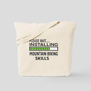 Please wait, Installing Mountain Biking S Tote Bag