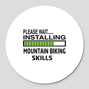 Please wait, Installing Mountain Round Car Magnet