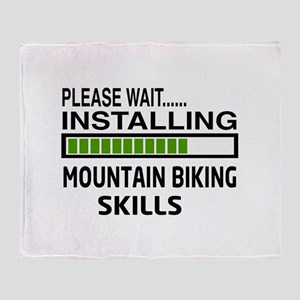 Please wait, Installing Mountain Bik Throw Blanket