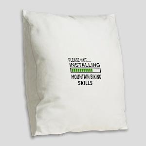 Please wait, Installing Mounta Burlap Throw Pillow