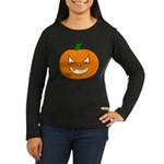 Jack-O-Lantern Women's Long Sleeve Dark T-Shirt