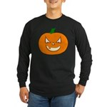 Jack-O-Lantern Long Sleeve Dark T-Shirt