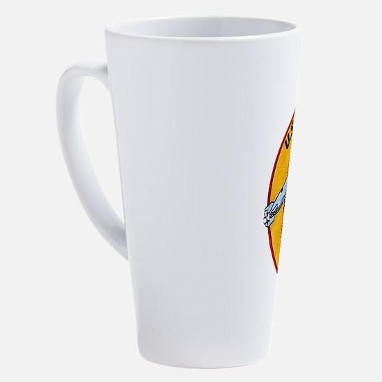 Cute Submarine 17 oz Latte Mug