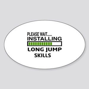 Please wait, Installing Long Jump S Sticker (Oval)