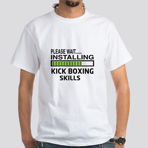 Please wait, Installing Kickboxing S White T-Shirt