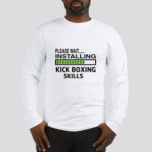 Please wait, Installing Kickbo Long Sleeve T-Shirt