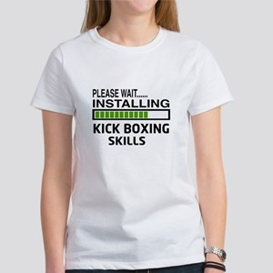 Please wait, Installing Kickboxing Women's T-Shirt