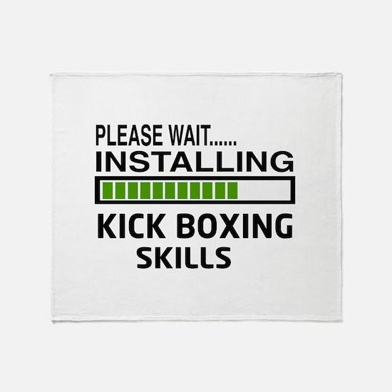 Please wait, Installing Kickboxing S Throw Blanket