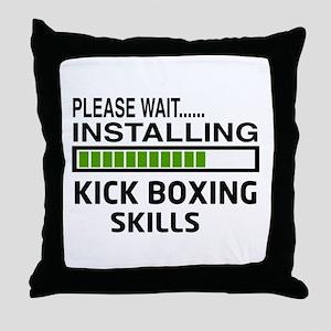 Please wait, Installing Kickboxing Sk Throw Pillow