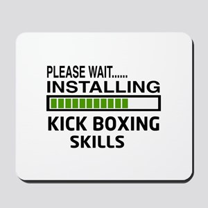 Please wait, Installing Kickboxing Skill Mousepad