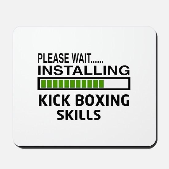 Please wait, Installing Kickboxing Skill Mousepad