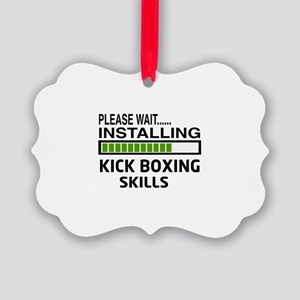 Please wait, Installing Kickboxin Picture Ornament