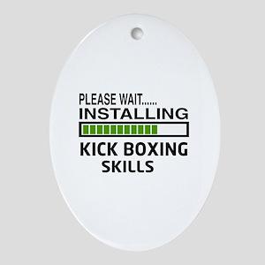 Please wait, Installing Kickboxing S Oval Ornament