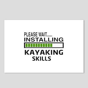 Please wait, Installing K Postcards (Package of 8)