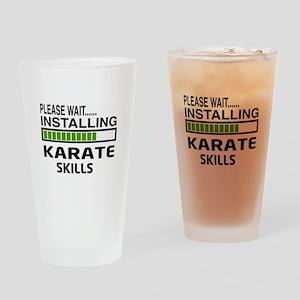 Please wait, Installing Karate Skil Drinking Glass